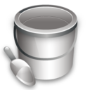 128x128px size png icon of Construction bucket