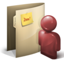 128x128px size png icon of Personal Folder