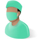 128x128px size png icon of Surgeon