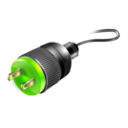 128x128px size png icon of Power Plug