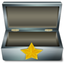 128x128px size png icon of Star box