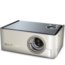 128x128px size png icon of Video projector