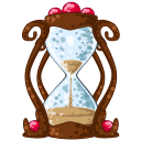 128x128px size png icon of Hourglass