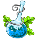 128x128px size png icon of Poison blue