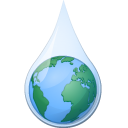 128x128px size png icon of drop
