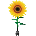 128x128px size png icon of sunflower