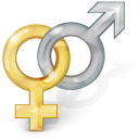 128x128px size png icon of Sex