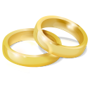128x128px size png icon of Wedding Rings