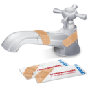 128x128px size png icon of Faucet