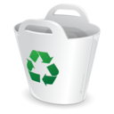 128x128px size png icon of Recycler bin