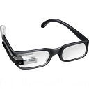 128x128px size png icon of Boss Google Glasses