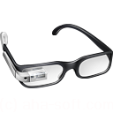 128x128px size png icon of Cool Google Glasses