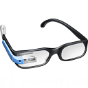128x128px size png icon of Guy Google Glasses