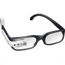 128x128px size png icon of Student Google Glasses