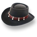 128x128px size png icon of Hat Bolero