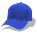 128x128px size png icon of Hat baseball blue