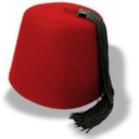 128x128px size png icon of Hat fez