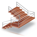 128x128px size png icon of Escaleras