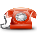 128x128px size png icon of Telefono