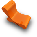 128x128px size png icon of chair 1