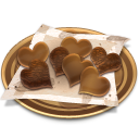 128x128px size png icon of Chocolates cookies