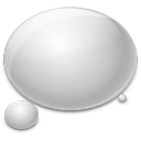 128x128px size png icon of bubble water rain