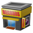 128x128px size png icon of Shop Records