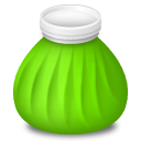 128x128px size png icon of Ice Bag