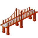 128x128px size png icon of Bridge