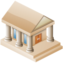 128x128px size png icon of Museum