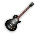 128x128px size png icon of BlackBeauty Guitar