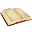 128x128px size png icon of book open