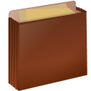 128x128px size png icon of folder case