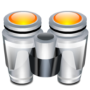 128x128px size png icon of Binoculars