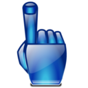 128x128px size png icon of Hand