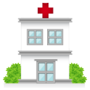 128x128px size png icon of hospital