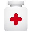 128x128px size png icon of pills pot