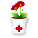 128x128px size png icon of plant