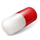 128x128px size png icon of Equipment Capsule Red