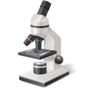 128x128px size png icon of Equipment Microscope