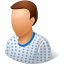 128x128px size png icon of People Patient Male