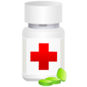 128x128px size png icon of Medical pot pills