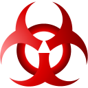 128x128px size png icon of Bio hazard