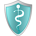 128x128px size png icon of Health care shield