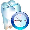 128x128px size png icon of Temporary tooth