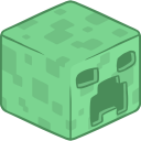 128x128px size png icon of 3D Creeper