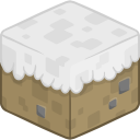 128x128px size png icon of 3D Snow