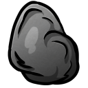 128x128px size png icon of Coal