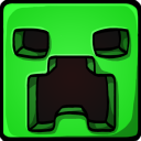 128x128px size png icon of Creeper