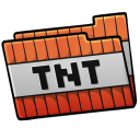 128x128px size png icon of Folder Tnt